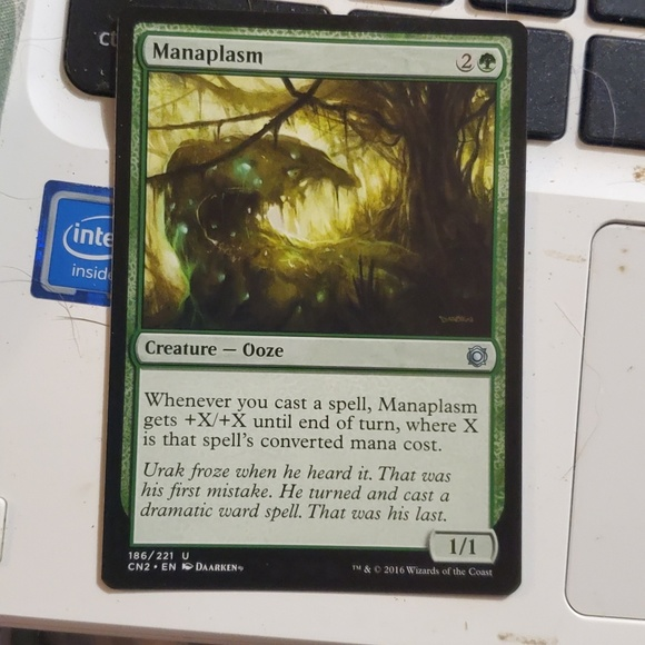 Other - Manaplasm magic card